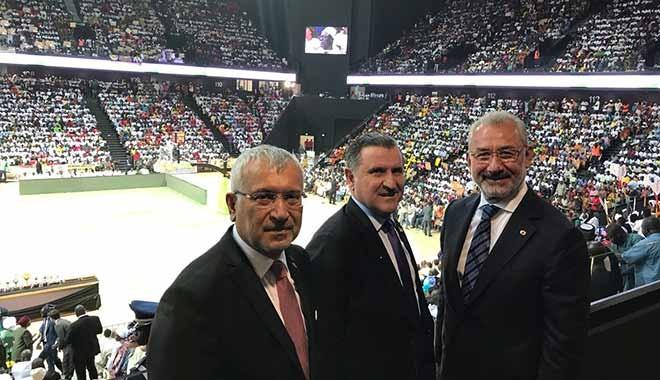 Türk Eximbank'ın finanse ettiği Dakar Arena açıldı