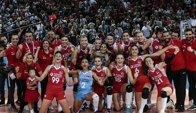 Türkiye A Milli Kadın Voleybol Takımı finalde