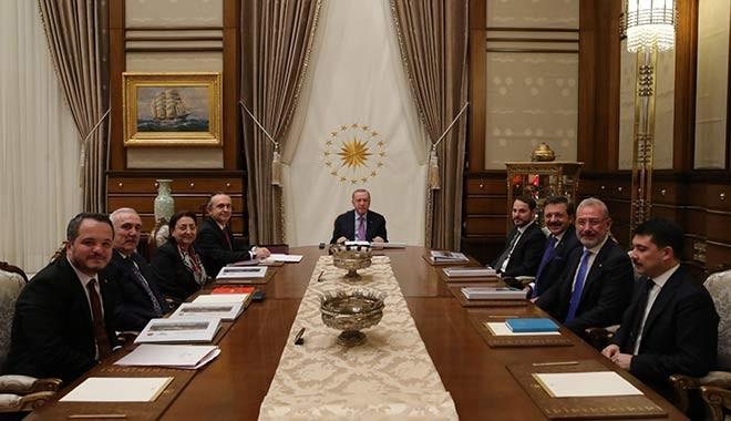 Türkiye Varlık Fonu toplantısında dikkat çeken isim!