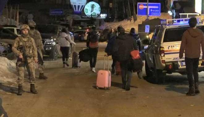 Uludağ'da cinayet! Tatilciler otelleri boşalttı