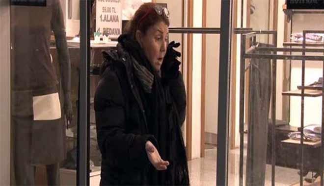Ünlü markanın mağaza müdürü soygun karşısında şoke oldu