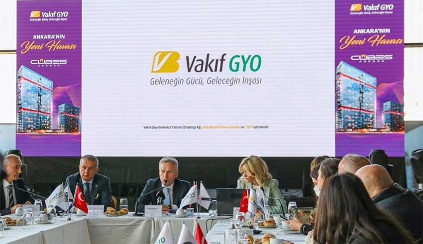 Vakıf GYO, Cubes Ankara projesini satışa sundu