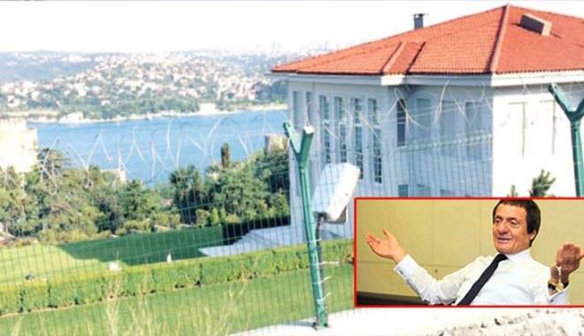 Ahmet Nazif Zorlu'nun villasına koruma kalkanı