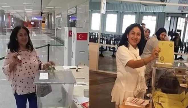 'Mükerrer oy kullanan Şengül Erdoğan'a FETÖ incelemesi