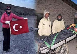Ece Vahapoğlu, Afrika'nın zirvesinde fenalaştı